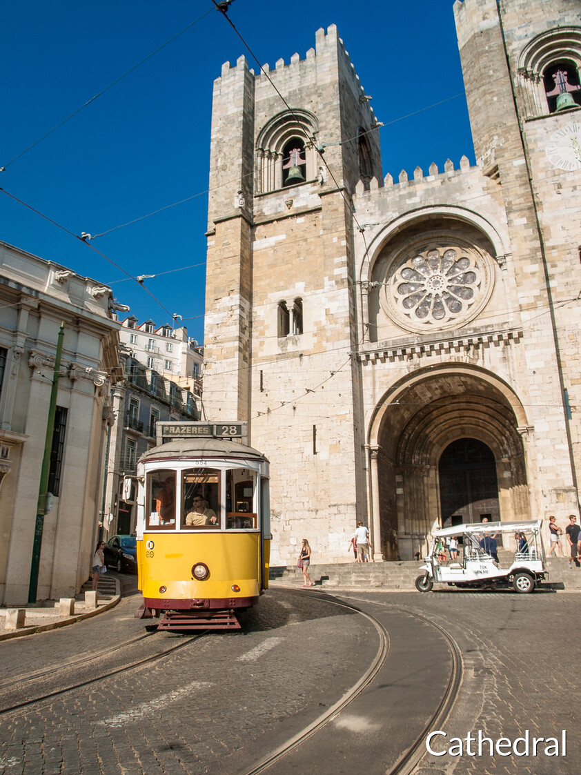 Lisbon Cathedral or Church of Santa Maria Maggiore