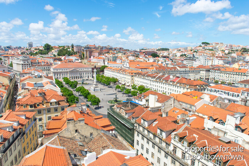 Lisbon	's center properties
