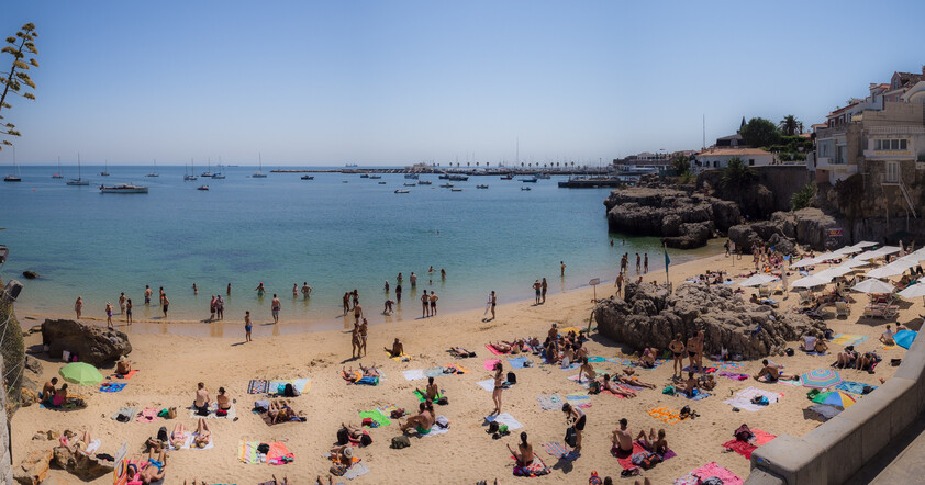 Calm waters Beach in Cascais